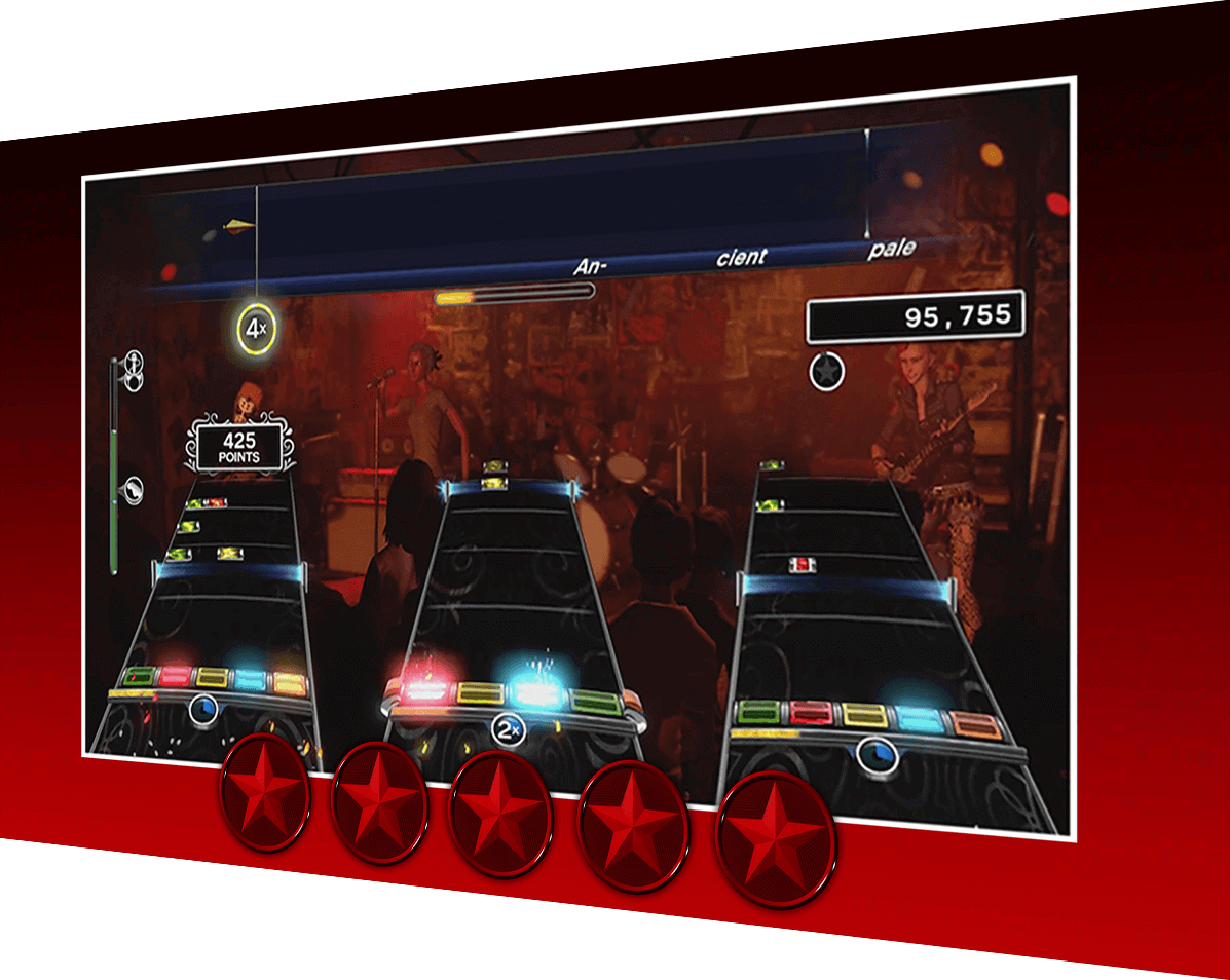 Rock Band Rivals Harmonix Music Systems Inc Fuse Xbox 360 Amazon Brutal Mode Game Modes