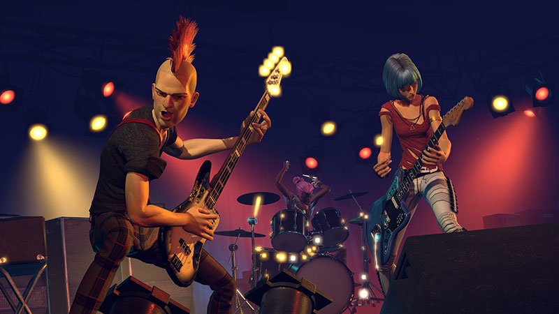 Rock band 2 managers dating