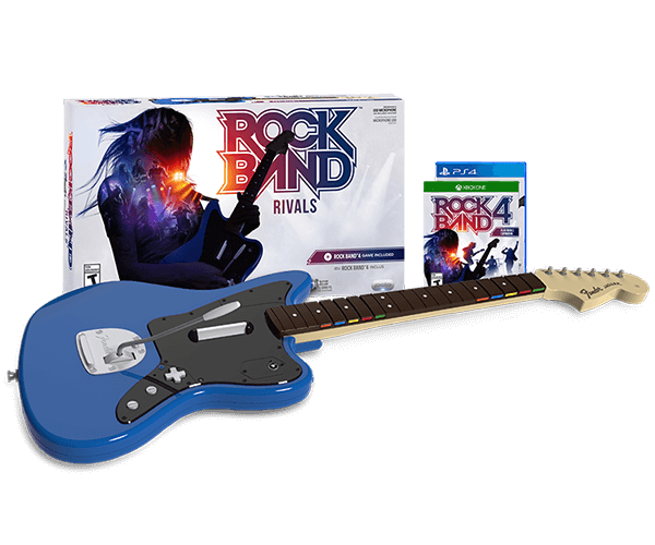 Rock band rivals harmonix music systems inc get the new guitar controller rock band 4 plus rock band rivals expansion publicscrutiny Gallery